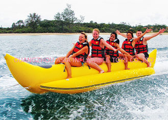 Aquapark Towable Inflatables, Boot van de 3 - 5 persong de Opblaasbare Vliegende Banaan