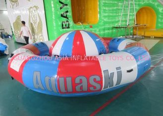 China De digitale Spinnende Boot van Inflatables van de Drukdraaischijf, 8 Persoons Towable Buis fabriek