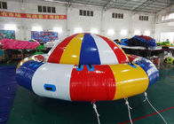 8 - 10 Person Inflatable Disco Boat Motorized Toys Semi Boat , Water Spinner Gyro